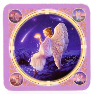 Angel Coasters~Mystical Angel Wishing Star Coasters~Fair Trade by Folio Gothic Hippy~KP10